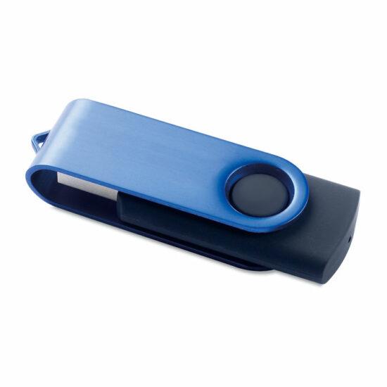 USB lykill blár