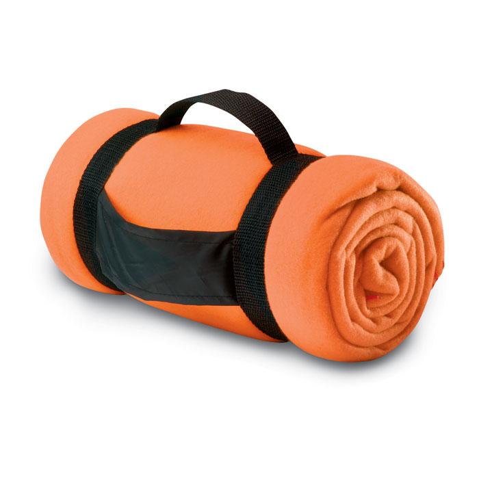 Flísteppi orange FMO7245