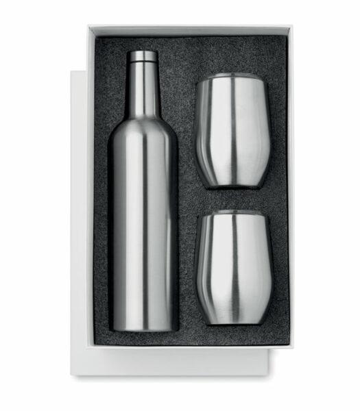 Flaska og glös