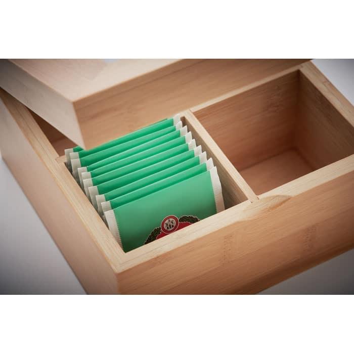 Bambusbox fyrir te
